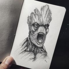 I am GROOT!more of my works @https://www.instagram.com/yapip07/