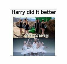 No offense.. I like Taylor too but this legit made me laugh<<<I mean offense when I say he did it better because he did. #Harrydiditbetter