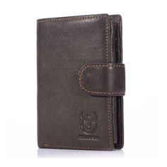 Bullcaptain® Men Leather Wallet Vintage Short Wallet Trifold Wallet Card Holder  Worldwide delivery. Original best quality product for 70% of it's real price. Hurry up, buying it is extra profitable, because we have good production sources. 1 day products dispatch from warehouse. Fast ...