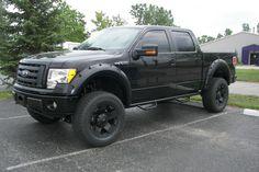 Ford F-150 black