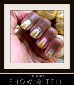 This #DeborahLippmann #ManiFriday is inspired by NYC in the fall (the best time of year)!