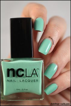 NCLA - Santa Monica Shore Thing & Stamping - Direction la playa! ~ Didoline's Nails