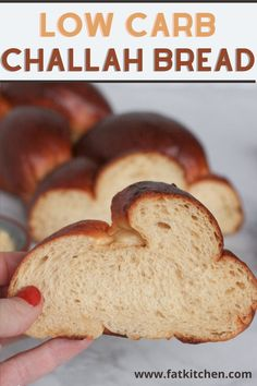 Low Carb Flour, Low Carb Bread, Keto Bread, Low Carb Keto, Low Carb Recipes, All You Need Is, Challah Bread Recipes, Recipes With Yeast, Comida Keto