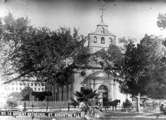 Florida Memory - Ancient Cathedral, St. Augustine, Florida.