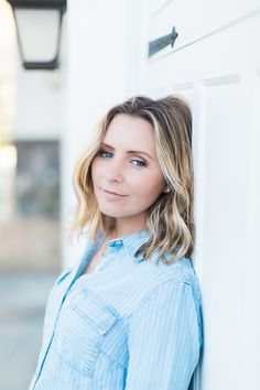 The Perfect Chambray Shirt - Growing Up Hollywood...