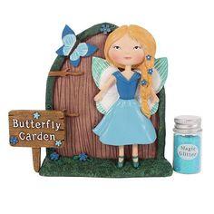 Amelia and Bluebell Fairy Door Gift Set Duvet Sets, Duvet Cover Sets, Mandala Duvet Cover, Elephant Family, Fairy Figurines, Forest Fairy, Fairy Doors, Amelia, Holiday Decor