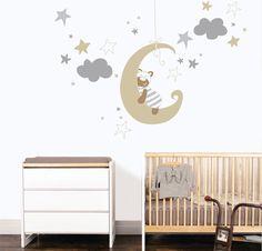 Cloud Decoration, Baby Room, Home Decor, Kids Rooms, Illustrations, Babies, Baby Corner, Yurts, Nursery