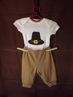 Baby's first Thanksgiving outfit size 03 by AlishaCreativeDesign, $20.00