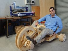 Too big for your old Big Wheel? Get back in the race by building an adult-sized trike from plywood.