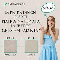 Stiai ca la Piatra Design poti cumpara Piatra naturala la pret de gresie si faianta? acceseaza website-ul nostru pentru a te convinge Website, Design