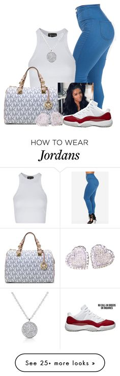"""""""Made by @zeniayah"""" by anauticahniontrai on Polyvore featuring Topshop, MICHAEL Michael Kors and Anne Sisteron"""