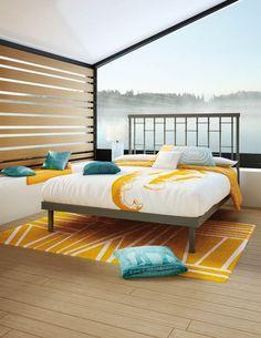 http://www.horizonfurniturestore.com/bedroom-furniture/metal-beds.html?brand=190 - Amisco - Furniture - Bedroom - Mantra Bed - Mattress Support - Platform Type