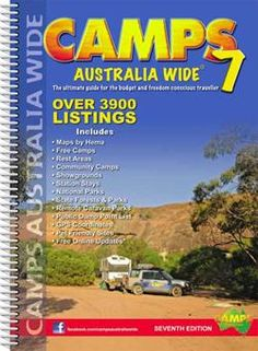 The camping bible for any Aussie Father. This book is not just a guide to camping spots for certain areas, but encompasses the whole of Australia, showing rest areas, free camps, station stays, low-cost caravan parks, national parks, state forests, state parks and reserves. You can't go wrong!   Camps Australia Wide 7 : A4 Spiral Bound (9780980570373) by Camps Australia Wide : Travel Universe ®