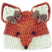 Fox Hat #CrochetHatsPatterns