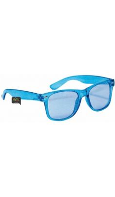 Lunettes Translucides Bleu, Jaune, Rouge ou Vert