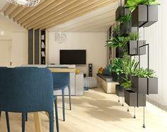 Dom w Bolechowicach - Salon, styl nowoczesny - zdjęcie od WERDHOME