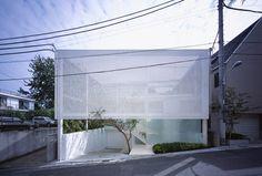 Shutter House for a Photographer | Tokyo, Japan | Shigeru Ban Architects