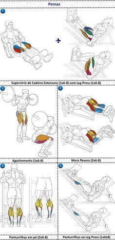Heavy duty treino pernas