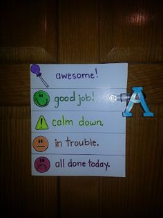Great for discipline! I think I might start using this daily!