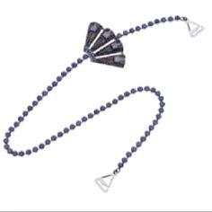 Purple fan straps