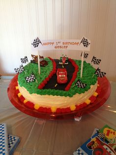 Disney Car's Birthday Cake for Wesley :)