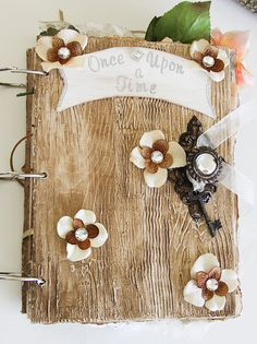"""READY TO SHIP    """"Happily Ever After"""" is a fairy-tale-inspired, oversized wedding guest book innovated and designed by Jennifer Manges. It is my"""