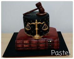 Lawyer cake.