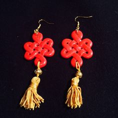 Oriental suggestions. Earrings Pattylou creations