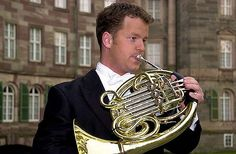 The horn is a brass instrument consisting of about meters of tubing wrapped into a coil with a flared bell. Johann Strauss Orchestra, Brass Instrument, French Horn, Musical Instruments, Horns, Musicals, Van, Music Instruments, Horn