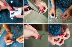 DIY on how to apply false eyelashes #falseeyelashes #eyelashextensions