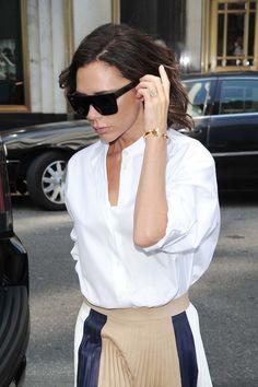 Street Style deluxe by Victoria Beckham - mit Tiffanys T-Modell und ihrer eigenen Kollektion