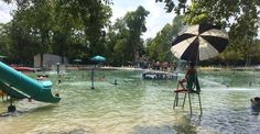 Burger's Lake is a spring-fed pool in Fort Worth.