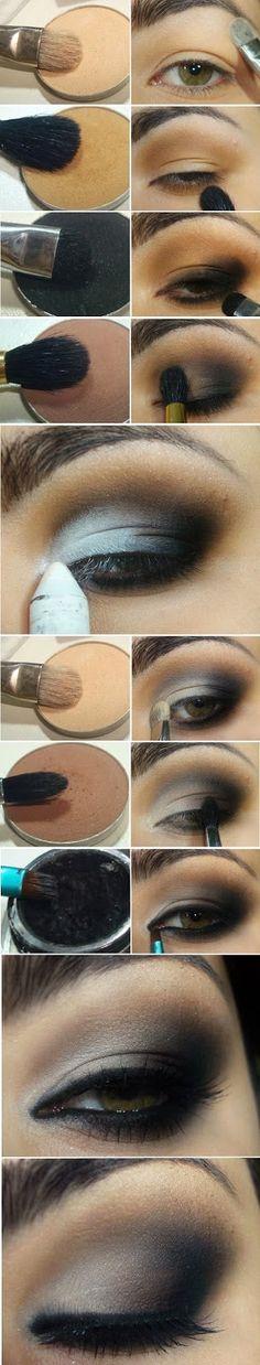 Cat Eye Makeup With Shadow Tutorials
