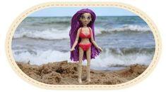 Crochet Swimsuit for Violetta Doll - Baby Doll Zone