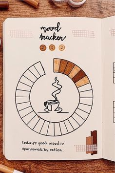 Check out these must try bullet journal mood tracker ideas for NOVEMBER Bullet Journal Tracker, Bullet Journal Paper, Creating A Bullet Journal, Bullet Journal Cover Ideas, Self Care Bullet Journal, Bullet Journal Lettering Ideas, Bullet Journal Notebook, Bullet Journal Aesthetic, Bullet Journal School