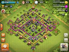 Clash of Clans   This picture can be download from http://centralhacks.com
