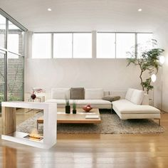 kenamp: Small space modern furniture Apartment How To Make Small Room Look Bigger Design Experts Secrets Realtorcom Thesynergistsorg How To Make Small Room Look Bigger Design Experts Secrets Fresh Living Room, Living Room Modern, Home And Living, Teen Bedroom Designs, Living Room Designs, Apartment Furniture, Living Room Furniture, Jugendschlafzimmer Designs, Small Room Interior