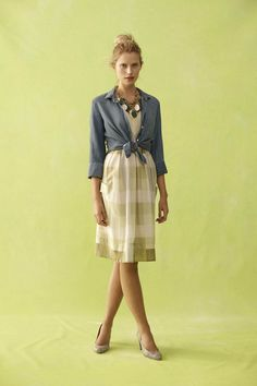 anthropologie spring 2012--cute--  I'm wondering if I have to have that pouty look to wear this