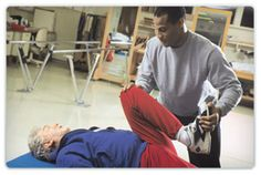 Physical therapist assistants (sometimes called PTAs) and physical therapist aides work under the direction and supervision of physical therapists. They help patients who are recovering from injuries and illnesses regain movement and manage pain. Hip Strengthening Exercises, Physical Therapy Exercises, Physical Therapist, Spinal Stenosis Treatment, Knee Replacement Surgery, Leg Pain, Pain Management, Massage Therapy, Physics