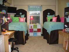 Cute room--there's a lot going on here!
