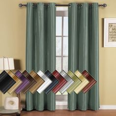 Fast Next Business Day Shipping Shop For Soho Thermal Blackout Grommet Top Curtain Panels (Single).  Use Code WB20 to unlock extra 20%Off sale price on today's orders.