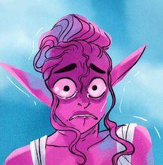 Lore Olympus, Owl House, Nymph, Webtoon, Comics, Fictional Characters, Flower, Random, Art