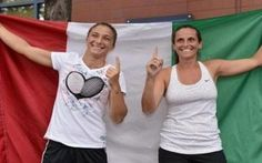 Nazionale affidata alle Cichi's, esclusa per tutelare il polso Flavia Pennetta #sara #errani #roberta #vinci #fed #cup