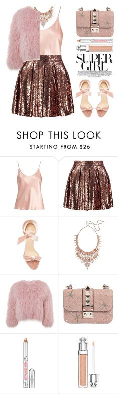"""Ready to Dance"" by stavrolga on Polyvore featuring La Perla, Boohoo, Alexandre Birman, Kendra Scott, Charlotte Simone, Valentino, Christian Dior, polyvoreeditorial and danceparty"