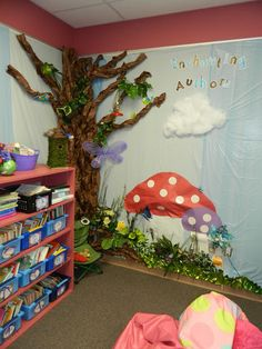 .enchanted forest classroom