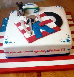 Bruce springsteen cake www.cakefantastique.co.uk