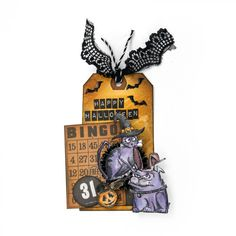 Doggone Halloween Tag - Scrapbook.com