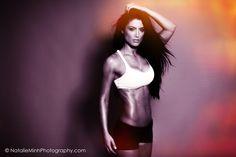 Fitness model Natalie Eva Marie. Shot in my studio http://natalieminhphotography.com