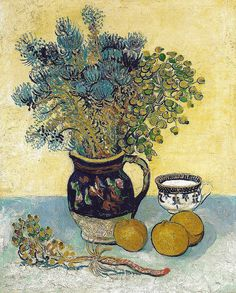 ❀ Blooming Brushwork ❀ - garden and still life flower paintings - Vincent van Gogh, 1888