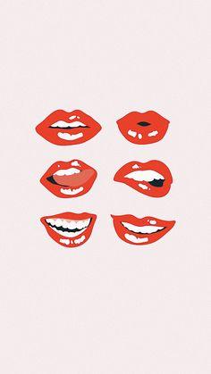 Lips art _ lippen kunst _ art des lèvres _ arte d Collage Foto, Collage Mural, Bedroom Wall Collage, Photo Wall Collage, Wall Art Collages, Photo Canvas, College Wall Art, College Walls, Dorm Walls